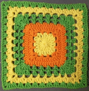 Bright and Cheery Square