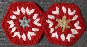 Christmas Stocking Hexagons