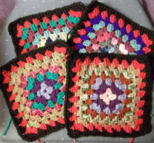 Granny Squares for Jacket