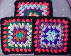 Almost there granny squares