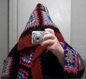 Granny Coat Hood