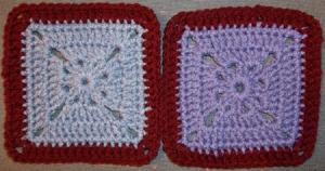 A pair of Camo Squares
