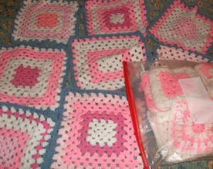 Pink and white project