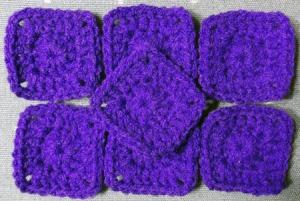 7 purples