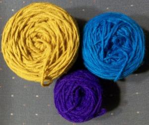 3 yarns