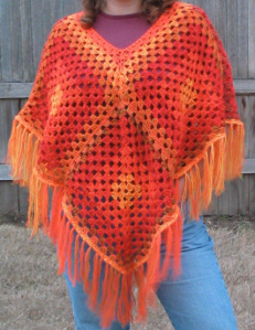 Painted Desert Poncho
